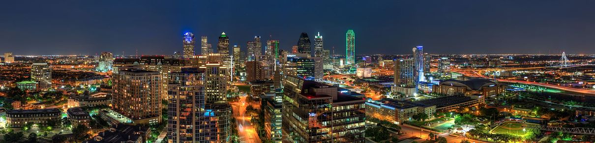 Nightscape of Dallas, Tx.
