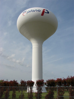Plano, Tx Water Tower