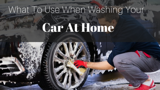 Man Washing A Car Wheel